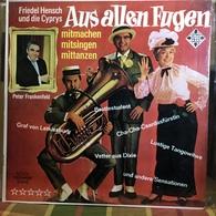 LP Argentino De Friedel Hensch Y Los Cyprys Año 1966 - Sonstige - Deutsche Musik