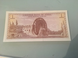 Ancien Billet Syrie - 1 Pound Type 1982 - Syrie