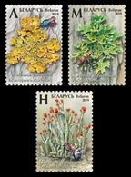 Belarus 2019 Mih. 1303/05 Flora. Mushrooms. Lichens MNH ** - Belarus