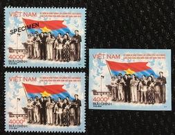 Viet Nam MNH Perf, Imperf & Specimen Stamps 2019 : 50th Anniversary Of Vietnam National Liberation Front - Vietnam
