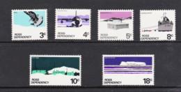 Ross Dependency NZ 1972 Scenic Definitives Set Of 6 MNH - Ross Dependency (New Zealand)