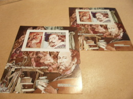 Perf And Imperf Miniature Sheets Rubens - Chad (1960-...)