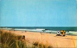 Maryland North Ocean City Beach Scene
