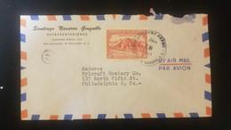 O) 1953 CIRCA - EL SALVADOR, MAYAN PYRAMID ST ANDRES PLANTATION - SC C99 - ARCHEOLOGY, SANTIAGO NAVARRO GONZALBO, AIRMAI - El Salvador