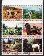 ANGOLA, 2000 DOGS CTO BLOCK 4 - Angola