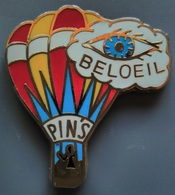 Pin's MONGOLFIERE - PIN'S - BELOEIL - Airships