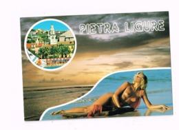 Pietra Ligure.Expédié à Belsele (Belgique) - Pin-Ups