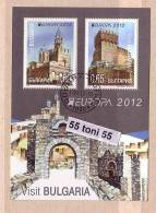 BULGARIA / BULGARIE 2012 Europa – Visit Bulgaria S/S- Used/oblit.(O) - Europa-CEPT