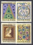 Hungary 1970 Mi 2603-2606 MNH ( ZE4 HNG2603-2606dav56C ) - Stamp's Day
