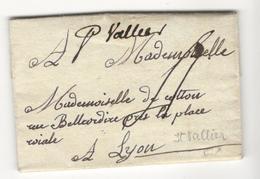 18382 - De SAINT VALIIER 1780 - 1701-1800: Précurseurs XVIII