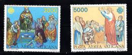 Vatican 1983 Mi Nr  842 + 843 Communicatie - Ongebruikt