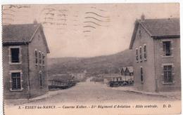 ESSEY LES NANCY-CASERNE KLEBER-21e REGIMENT D'AVIATION-ALLEE CENTRALE - Altri Comuni
