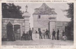 25 -- Doubs -- Besançon -- Caserne Du Fort-Griffon -- Pub Montres Et Chronomètres H.Sarda - Besancon