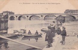 31 -- Toulouse -- Vue Sur La Garonne Et Pont Saint-Cyprien -- Enfants - Toulouse