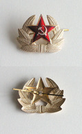 Cocarde De Chapeau Defourrure URSS L'armée Soviétique (URSS, SOVIET) - Uniformes