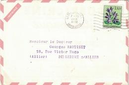 CONGO BELGE - LEOPOLDVILLE - ENVELOPPE PUBLICITAIRE LABORATOIRES BOCQUET A DIEPPE -SEINE MARITIME - PUERICRINE-11-12-58 - Belgisch-Kongo