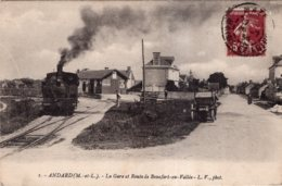 ANDARD LA GARE ET ROUTE DE BEAUFORT EN VALLEE TBE - France