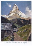 46095  -  Josef Burger - Das Matterhorn - Malerei & Gemälde