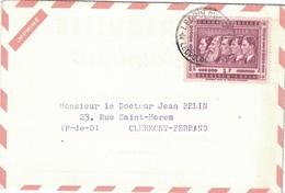 CONGO BELGE - LEOPOLDVILLE - ENVELOPPE PUBLICITAIRE LABORATOIRES BOCQUET A DIEPPE -SEINE MARITIME - PUERICRINE. - Belgisch-Kongo