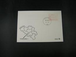 """BELG.1983 ATM39 FDC """"Vignette Affranchissement/Automaatzegels """" - Franking Machines"""