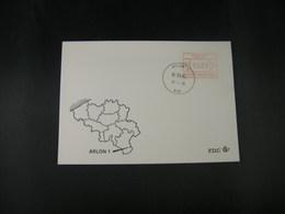 """BELG.1983 ATM35 FDC """"Vignette Affranchissement/Automaatzegels """" - Franking Machines"""