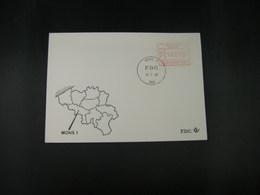"""BELG.1983 ATM47 FDC """"Vignette Affranchissement/Automaatzegels """" - Franking Machines"""