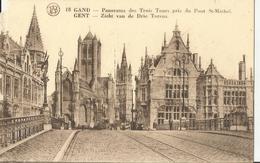 GAND PANORAMA DES TROIS TOURS PRIS DU PONT ST. MICHEL  (31) - Gent