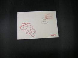 """BELG.1983 ATM15 FDC """"Vignette Affranchissement/Automaatzegels """" - Franking Machines"""