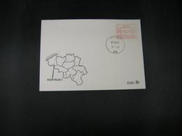 """BELG.1983 ATM16 FDC """"Vignette Affranchissement/Automaatzegels """" - Franking Machines"""