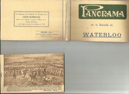 PANORAMA DE LA BATAILLE DE WATERLOO 12 CARTOLINE (34) - Cartoline