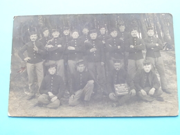 Groep > Te Beverloo > 1912 > Soldaat / Soldier / Soldat Milicien *** Te Identificeren ( Formaat PK / CP - 1 Stuk ) ! - Oorlog, Militair
