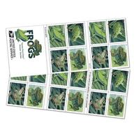 US Stamps 2019. - Frogs. Booklet (20 Stamps) - Pre-order. - Markenheftchen