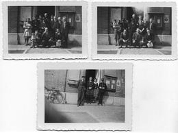 PHOTO ORIGINALE : Personnel Communal De Comblain-au-Pont Durant La Guerre 40-45 - Guerre, Militaire