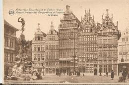 ANVERS MAISON DES CORPORATIONS ET FONTAINE DU BRABO (37) - Antwerpen