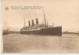 ANVERS SS BELGENLAND RED STAR LINE  (41) - Antwerpen