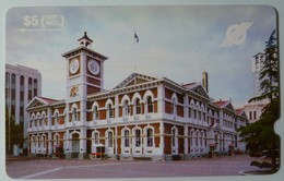 NEW ZEALAND - GPT - NZ-G-2 - Chief Post Office, Christchurch - 1989 Trial Issue - $5 - Used - New Zealand