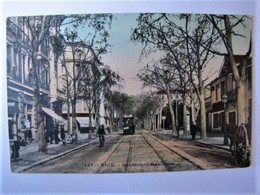FRANCE - ALPES MARITIMES - NICE - Boulevard Gambetta - 1910 - Places, Squares