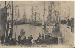 Carte Postale Ancienne De Dunkerque Départ D'Islandais - Dunkerque