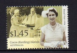 COCOS Is, 2004  $1.45 ROYAL VISIT USED - Cocos (Keeling) Islands