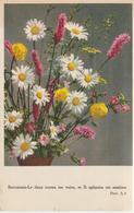 6-Fiori-Fleurs-Flowers-Blumen-Flores-Piccolo Formato-v.1951 In Busta - Fiori