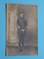 Soldaat / Soldier / Soldat Milicien *** Te Identificeren > Anno 1919 ( Formaat PK / CP ) ! - Guerre, Militaire