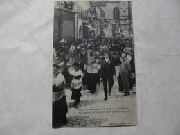 CPA 70 HAUTE SAONE - GRAY : Fêtes Du Couronnement (16 Mai 1909) - Les Evêques Et Le Clergé Se Rendant à La Procession - Gray