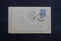 FRANCE - Entier Postal + Réponse Type Sage De Roubaix En 1897 En Port Local -  L 31637 - Postal Stamped Stationery