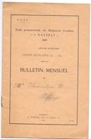 Schoolrapport & Regelement - School Damen Ursulinen - Ecole Religieuses Ursulines - Hasselt - Clementine Putzeys - Diploma & School Reports