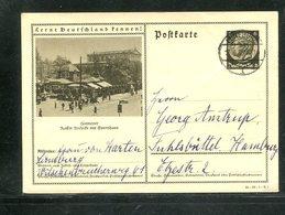 Deutsches Reich / 1935 / Bildpostkarte > HANNOVER, Steg-Stempel Lueneburg (17365) - Deutschland
