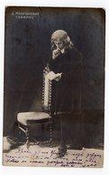 1908 SERBIA, BELGRADE TO THESSALONIKI, SALONICA, TURKEY,  D. MILUTINOVIC, POSTCARD CARD USED, - Serbia
