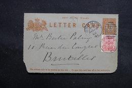 AUSTRALIE - Entier Postal + Complément De Sydney Pour La Belgique En 1902 -  L 31643 - Briefe U. Dokumente