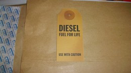Carte Parfumées Diesel Fuel For Life Use With Caution - Profumeria Moderna (a Partire Dal 1961)