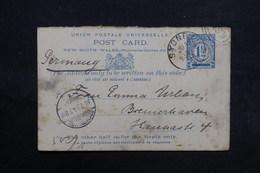 AUSTRALIE  - Entier Postal De Sydney Pour L' Allemagne En 1894 -  L 31646 - Briefe U. Dokumente