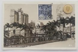 Sao Paulo, Viaducto Do Cha E Parque Anhang Bahu, 1950 - São Paulo